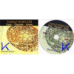 Namaz Sureleri - Yasin, Tebareke, Amme - Davut Kaya - CD