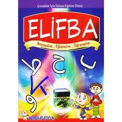 Elifba - Boyayalım, Eğlenelim, Öğrenelim - Berekat