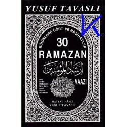 30 Ramazan Vaazı - Yusuf Tavaslı