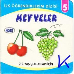 Meyveler - Ilk Öğrendiklerim dizisi - Hobi - Sert karton kitap
