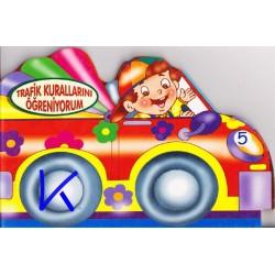 Trafik Kurallarını Öğreniyorum - Sert karton sayfa kitap - Hobi