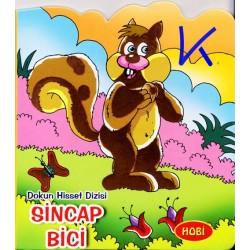 Sincap Bici - Dokun Hisset Dizisi - Sert karton sayfa kitap - Hobi