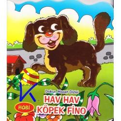 Hav Hav Köpek Fino - Dokun Hisset Dizisi - Sert karton sayfa kitap - Hobi