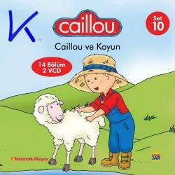 Caillou ve Koyun - Caillou 10 - 14 bölüm, 2 VCD - çizgi film