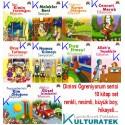 Dinimi Öğreniyorum serisi, 10 kitap set - renkli, resimli, hikayeli, büyük boy - Timaş