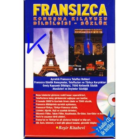 Fransızca Konuşma Kılavuzu - Dil Bilgisi - Sözlük + 7 Audio CD set - Metin Yurtbaşı