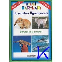 Bilgi Kartları - Hayvanları Öğreniyorum - Uysal