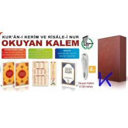 Kalem Kur'an - Risale-i Nur, Cevşen, Tesbihat ve Elifbe Okuyan Kalem Seti