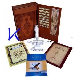 Tecvidli Kalem Kur'an ve Tam Dini Bilgiler Seti - Akser