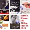 Roman, Hikaye seti 5 kitap: Cehennemden Kaçış, Beyaz Ölüm, Dönüş, Susturun Ezanları, Yaşar Alptekin Itirafları