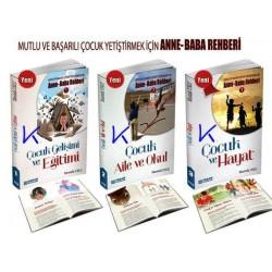 Mutlu ve Başarılı Çocuk Yetiştirmek için Anne Baba Rehberi 1-2-3 set - Mustafa Uslu