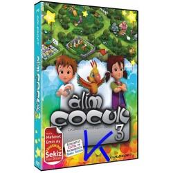 Alim Çocuk 3 - Çocukların Eğlenceli Eğitim Dünyası - CDR