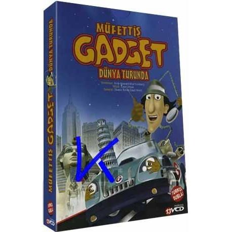 Müfettiş Gadget Dünya Turunda - 13 VCD