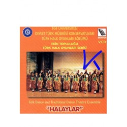 "Türk Halk Oyunları: ""Halaylar"" - Folk Dance and Traditional Dance - VCD"