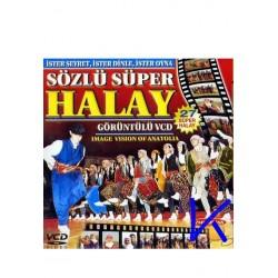 Halay, Sözlü 27 süper halay - Görüntülü VCD