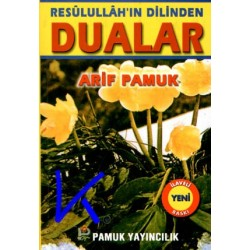 Resulullah'ın Dilinden Dualar - Cep boy - Arif Pamuk