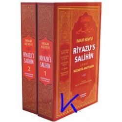 Riyazu's Salihin, Tercüme ve Şerhi (Nüzhetül Muttakin) - 2 cilt - Imam Nevevi