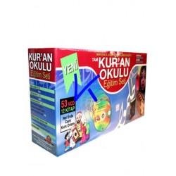 Kur'an Okulu 53 VCD + 12 Kitap - Kuran Okulu Eğitim Seti