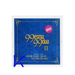 99 Esma 99 Dua 2 - CD - Münib Engin Noyan, Senai Demirci