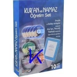 Kur'an ve Namaz Öğretim Seti - 10 VCD Atlasvideo