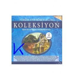 Türkiye Enstrümentalleri Koleksiyon - Best of Turkish Instrumentals - 3 CD bir arada, Tam 40 Eser