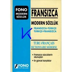 Fransızca Modern Sözlük, Fransızca - Türkçe, Türkçe - Fransızca, Dictionnaire Turc - Français - Birsen Çankaya, Cécile Bouchot