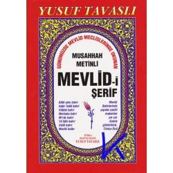 Mevlid-i Şerif - Musahhah Metinli - Yusuf Tavaslı