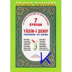 7 Ayetler, Yasin-i Şerif, Tebareke, Amme, 14 Secde Ayetleri ve Şifa Duaları - türkçe okunuşlu - Yusuf Tavaslı