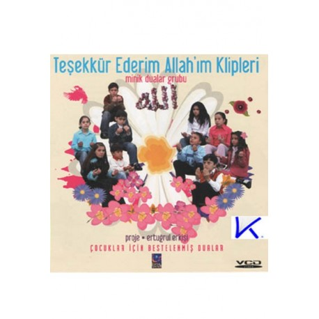 Teşekkür Ederim Allah'ım - Minik Dualar - VCD