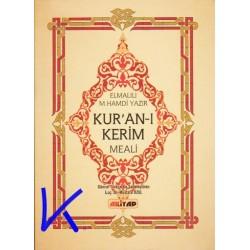 Kur'an-ı Kerim Meali - Cep Boy, sade meal (Kuran) - Elmalılı M. Hamdi Yazır