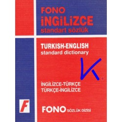 Ingilizce - Türkçe, Türkçe - Ingilizce standart Sözlük - Fono - Ali Bayram, Gordon Jones