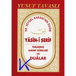 Yasin-i Şerif, Hz Veysel Karani'nin Duası, Tebareke, Amme ve Dualar - büyük boy, okunuşlu, D40 - Yusuf Tavaslı