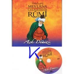 Mevlana Celaleddin Rumi - Aşk Denizi - Kitap + CD