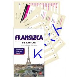 Fransızca Dil Kartları - en sık kullanılan 1500 kelime - Konuşma kılavuzu ilaveli