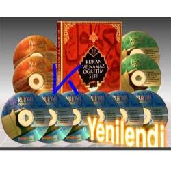 Kur'an ve Namaz Öğretim Seti - 10 VCD + Kitap