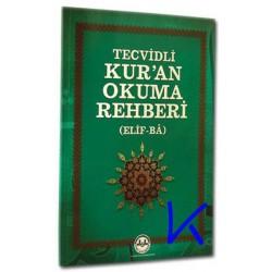 Elifbe - Tecvidli Kur'an Okuma Rehberi (Kuran Elifba)  - Davut Kaya - Diyanet