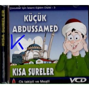 Küçük Abdussamed, Kısa Sureler - çocuklar için Ok takipli, sesli, görüntülü - VCD