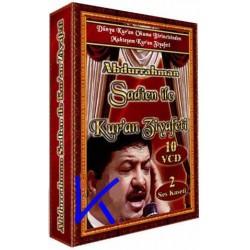 Abdurrahman Sadien ile Kur'an Ziyafeti - Kuran - 10 VCD + 2 Kaset set