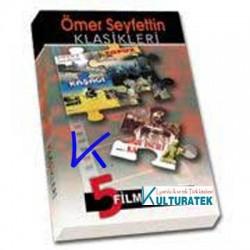 Ömer Seyfettin Klasikleri - 5 Film Özel set - Diyet, Topuz, Kaşağı, Ferman, Pembe Incili Kaftan