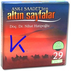 Asrı Saadet'ten Altın Sayfalar - Nihat Hatipoğlu - 13 VCD görüntülü set