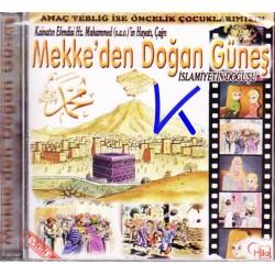 Mekke'de Doğan Güneş - Hz Muhammed (sav)'in Hayatı, Islamiyetin Doğuşu - çizgi film - 2 VCD