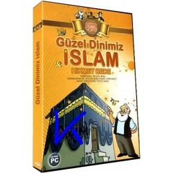 Güzel Dinimiz Islam, çocuklar için bilgisayar oyunu, Hikmet Dede - Altın Topaç - CD ROM PC