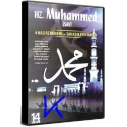Hz Muhammed (sav) - 4 Halife Dönemi ve Sahabelerin Hayatı - 14 VCD set