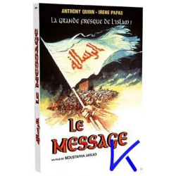 Le Message - Mustafa Akkad - Anthony Quinn - 2 DVD (version internationale + version arabe, version originale, en français)