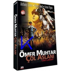 Ömer Muhtar Çöl Aslanı - Lion of the Desert - DVD - Anthony Quinn