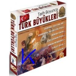 Tarih Boyunca Türk Büyükleri - 8 VCD - Osmanlı Sultanları, Mimar Sinan
