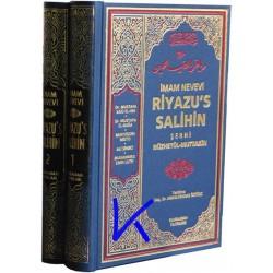 Riyazüs Salihin, 2 cilt - Imam Nevevi - tercüme ve şerhi - Abdülvehhab Öztürk, dç dr