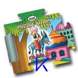 Puzzle Kitap - Keloğlan - Sert kitap - bebek - Hobi