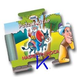 Puzzle Kitap - Nasrettin Hoca - Sert kitap - bebek - Hobi