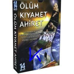 Ölüm, Kıyamet, Ahiret - 14 VCD - seslendirenler: Dursun Ali Erzincanlı, Seyfullah Kartal, Mahmut Yıldırım